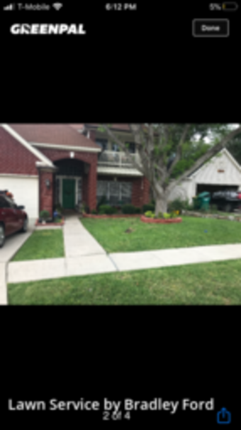 Lawn Mowin Converse,78109,Yard Cutting by Ford Landscape , work completed in Jul , 2020