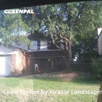 Lawn Mowin Grapevine,76051,Lawn Care by Alcazar Landscaping, work completed in Sep , 2020