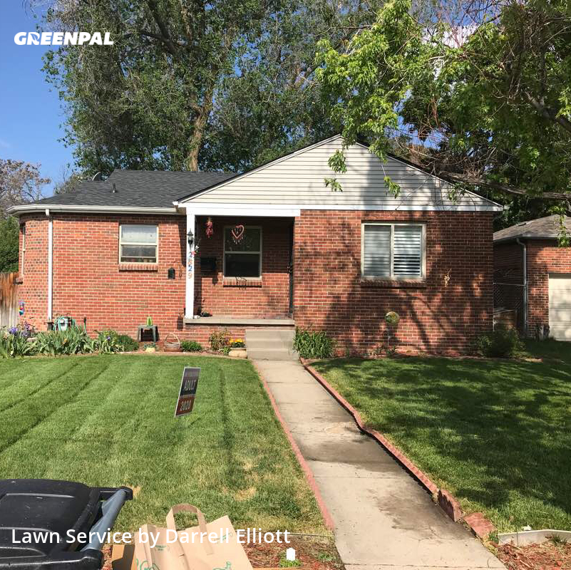 Grass Cuttingin Englewood,80113,Lawn Care by West & Elliott Cons, work completed in Aug , 2020