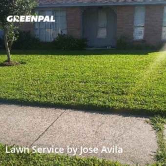 Lawn Cutin Friendswood,77546,Grass Cutting by Avila's Lawnscaping , work completed in Jul , 2020