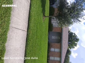Lawn Care Servicein Friendswood,77546,Yard Cutting by Avila's Lawnscaping , work completed in Jul , 2020
