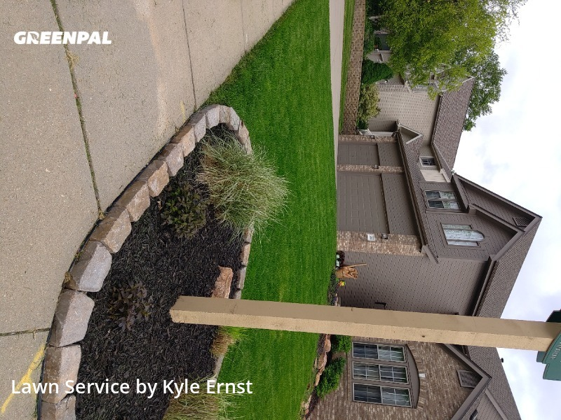 Grass Cutin Omaha,68116,Lawn Cutting by Kyle's Lawns, work completed in Aug , 2020