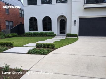 Grass Cutin Houston,77098,Lawn Mow by N.S. Landscaping, work completed in May , 2020