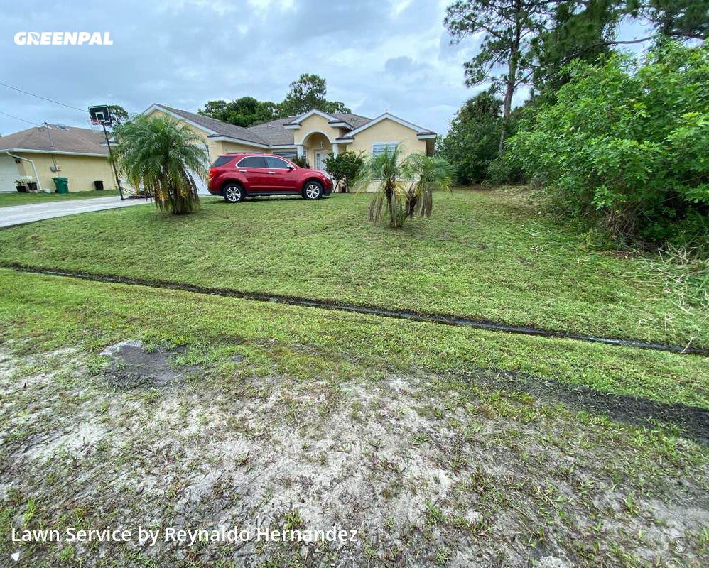 Lawn Carein Port St. Lucie,34983,Lawn Mowing by Friendly Landscaping, work completed in Jul , 2020