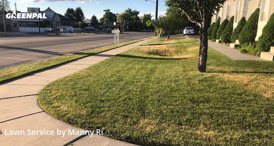 Lawn Maintenancein Bountiful,84010,Lawn Mow by Sunny Side Mowe, work completed in Sep , 2020