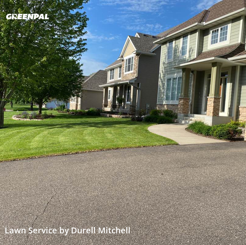 Lawn Cutin Brooklyn Park,55443,Lawn Service by Bound Landscaping , work completed in Aug , 2020