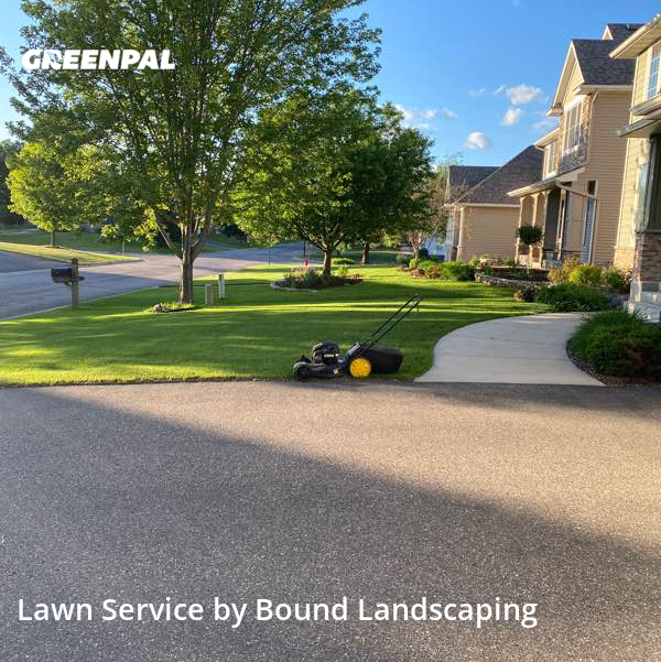 Lawn Mowingin Brooklyn Park,55443,Lawn Maintenance by Bound Landscaping , work completed in Aug , 2020