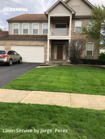Lawn Servicein Bolingbrook,60490,Grass Cut by 4 Season Home Servic, work completed in Sep , 2020