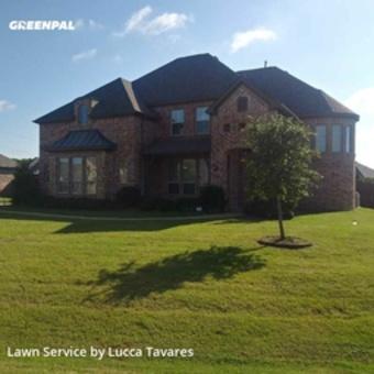 Lawn Servicein Wylie,75098,Yard Cutting by L&J Landscape, work completed in Jul , 2020