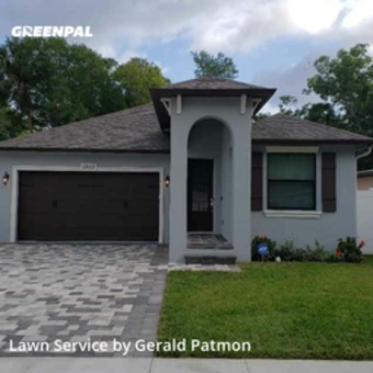 Grass Cutin Tampa,33604,Lawn Mow by Blu' Vision Landscap, work completed in May , 2020