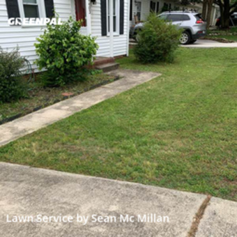 Lawn Mowing Servicein Greensboro,27407,Lawn Mowing by Mc Millawns, work completed in May , 2020