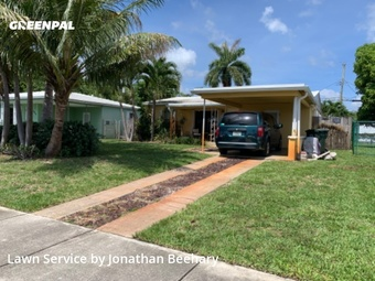 Yard Mowingin Fort Lauderdale,33334,Grass Cutting by Lawn Life, work completed in Jul , 2020