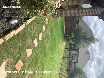 Grass Cutin Roanoke,76262,Yard Cutting by Fangman Lawn Service, work completed in Sep , 2020