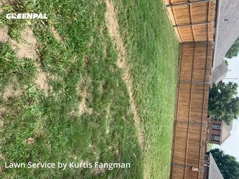 Lawn Cuttingin Roanoke,76262,Yard Cutting by Fangman Lawn Service, work completed in Sep , 2020