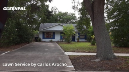 Lawn Cuttingin Orlando,32807,Lawn Care by Arocho Landscaping , work completed in May , 2020