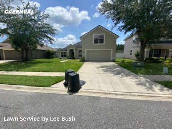 Grass Cuttingin Orange Park,32065,Lawn Mow by Teal City Landscape, work completed in Aug , 2020