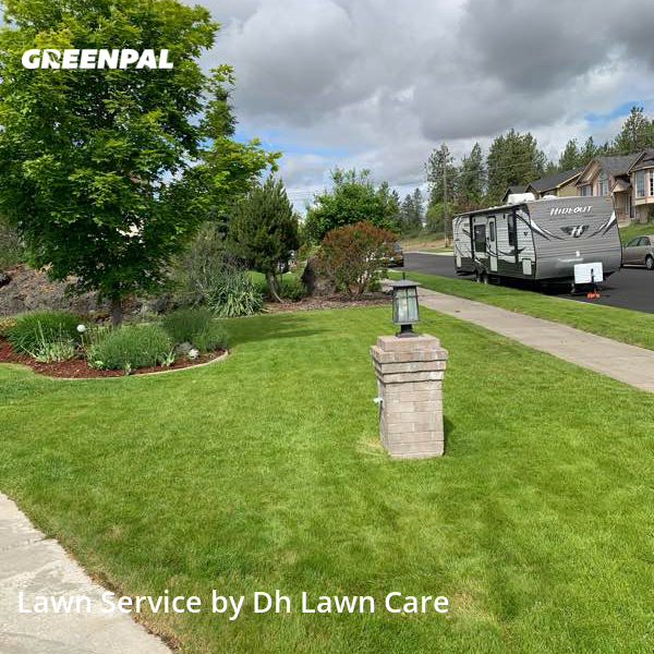 Yard Mowingin Spokane,99224,Lawn Care Service by Dh Lawn Care, work completed in Sep , 2020
