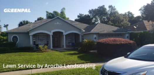 Lawn Cuttingin Winter Springs,32708,Yard Mowing by Arocho Landscaping , work completed in Jul , 2020