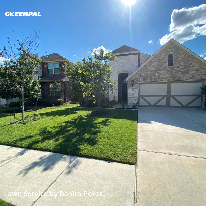 Grass Cuttingin Pflugerville,78660,Yard Cutting by Benzki Lawn Care, work completed in Jul , 2020