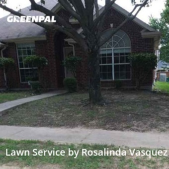 Lawn Servicein Lewisville,75067,Grass Cutting by Alcazar Landscaping, work completed in Jul , 2020