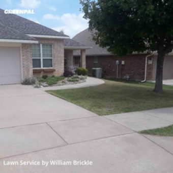 Lawn Mowingin Fort Worth,76244,Lawn Cutting by Brixx Lawn Care, work completed in May , 2020