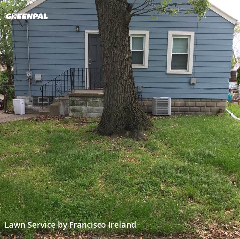 Grass Cuttingin Hammond,46323,Grass Cut by Franko's Mowing, work completed in Oct , 2020