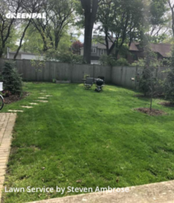 Yard Cuttingin Evanston,60202,Grass Cut by 4brothers, work completed in Sep , 2020