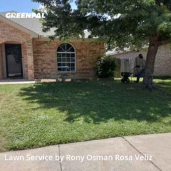 Lawn Cuttingin Saginaw,76179,Lawn Mow by R&Rconstructionsllc, work completed in Sep , 2020