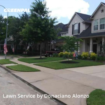 Lawn Maintenancein Cypress,77429,Yard Cutting by Alonzo's Lawn Servic, work completed in Jul , 2020