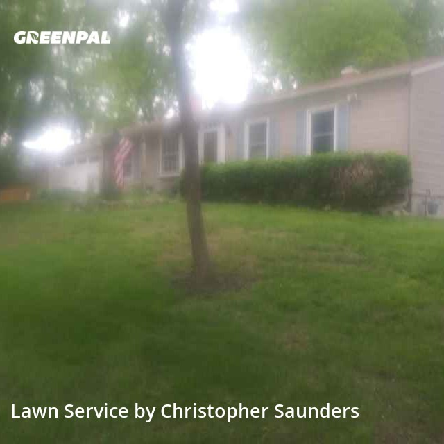 Lawn Servicein Manchester,63011,Lawn Maintenance by Saunders Lawn Care , work completed in Jul , 2020