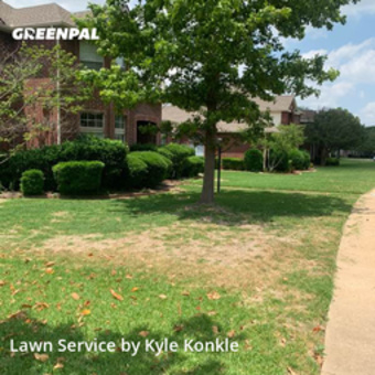 Lawn Care Servicein Plano,75025,Lawn Mowing by Kdk Landscaping, work completed in May , 2020
