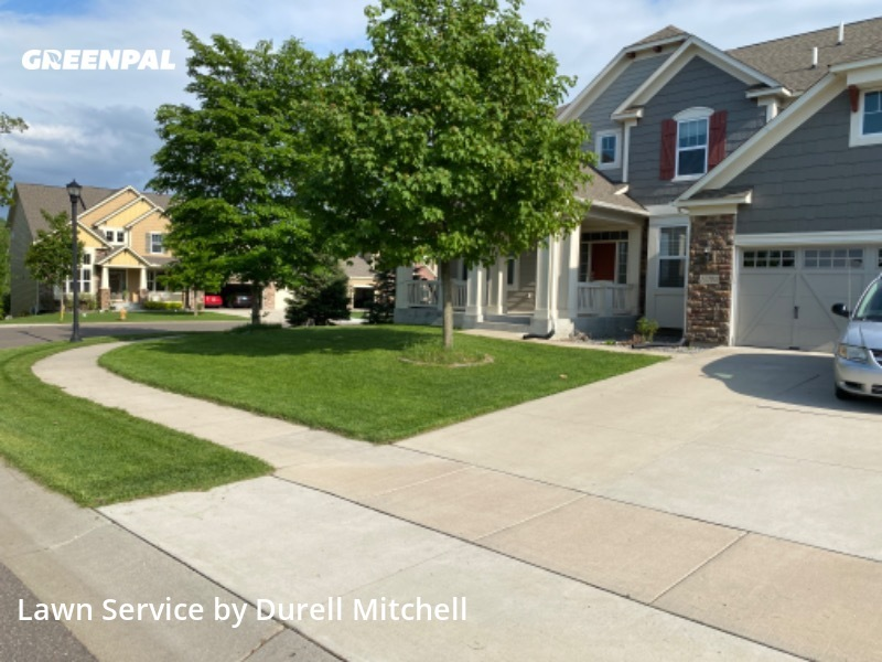 Yard Cuttingin Plymouth,55446,Yard Mowing by Bound Landscaping , work completed in Aug , 2020