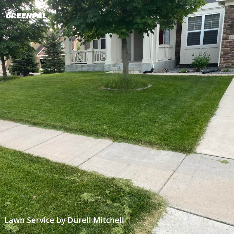 Lawn Carein Plymouth,55446,Yard Cutting by Bound Landscaping , work completed in Aug , 2020
