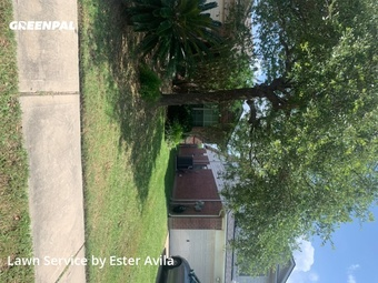 Yard Cuttingin Houston,77450,Lawn Care Service by Valladares Landscap, work completed in May , 2020