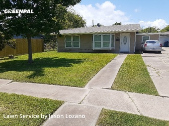 Lawn Mowing Servicein Corpus Christi,78411,Lawn Care by Eco Lawn Care, work completed in Jul , 2020