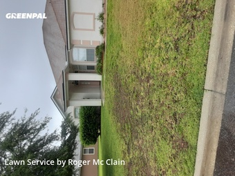 Lawn Maintenancein Jacksonville,32226,Yard Cutting by Roger's Janitorial , work completed in May , 2020