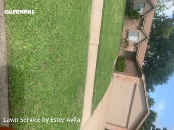 Lawn Mowingin Sugar Land,77498,Lawn Service by Valladares Landscap, work completed in Jul , 2020