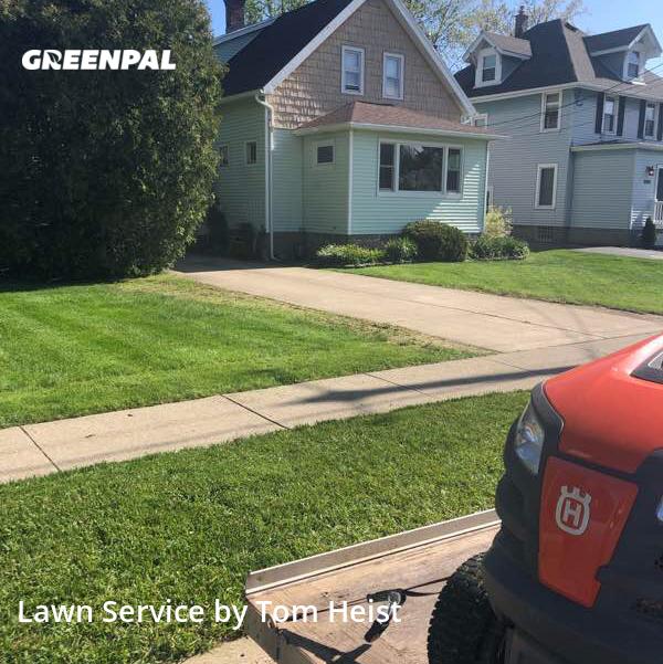 Grass Cuttingin Lancaster,14086,Yard Mowing by Absolute Service, work completed in Jul , 2020