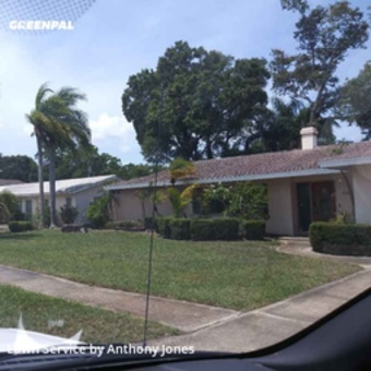 Lawn Care Servicein Clearwater,33755,Yard Cutting by Grass Sargent, work completed in May , 2020