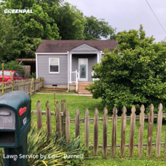 Lawn Cuttingin Nashville,37206,Lawn Service by Big Daddys Lawn Care, work completed in May , 2020