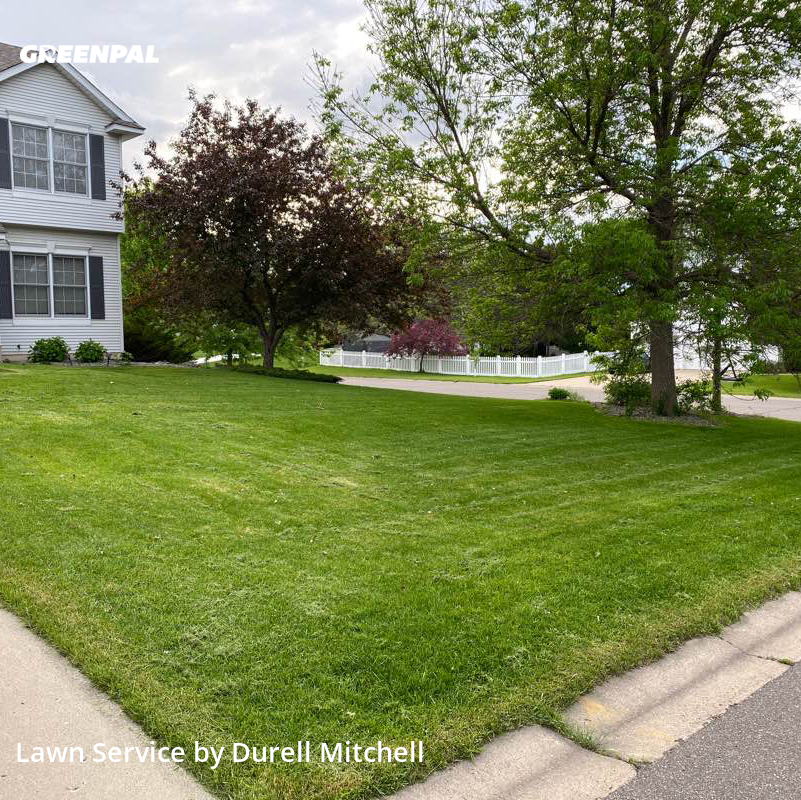 Yard Cuttingin Woodbury,55125,Lawn Care Service by Bound Landscaping , work completed in Aug , 2020