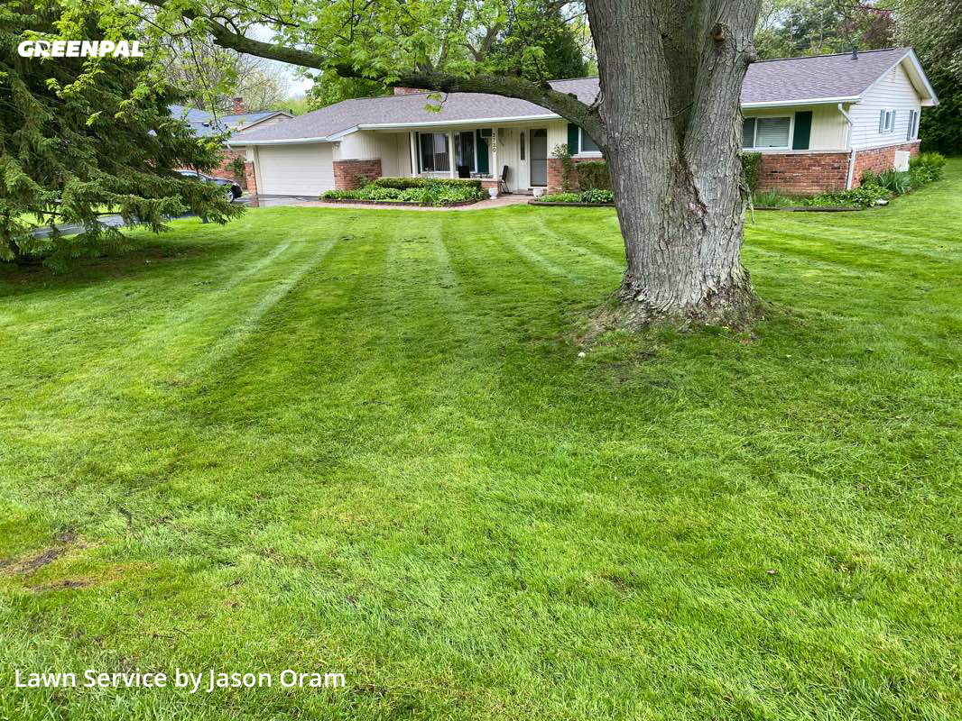 Yard Cuttingin West Bloomfield Township,48323,Lawn Care Service by Motor City Lawn Care, work completed in Jul , 2020
