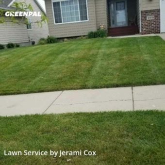 Yard Mowingin Sioux Falls,57106,Lawn Cutting by Infinity Lawn, work completed in May , 2020