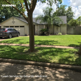 Lawn Mowin Sugar Land,77479,Lawn Care Service by Gm Landscaping Llc, work completed in Jul , 2020