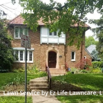 Lawn Care Servicein Clayton,63105,Lawn Mowing by Ez Life Lawncare, Llc, work completed in Jul , 2020