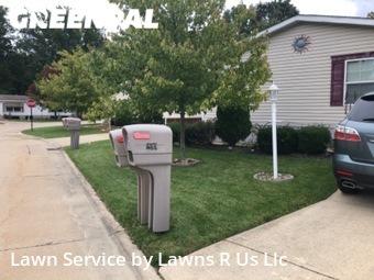 Lawn Cuttingin Elyria,44035,Lawn Cutting by Lawns R Us Llc, work completed in Oct , 2020