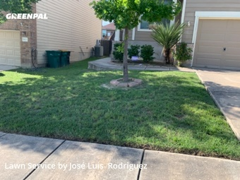 Lawn Mowing Servicein Converse,78109,Lawn Mowing Service by Texas Lawn Care Llc,, work completed in Jul , 2020