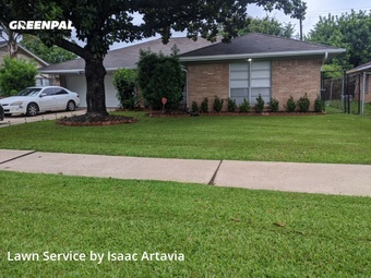 Yard Cuttingin Houston,77061,Lawn Mowing Service by N.S. Landscaping, work completed in May , 2020