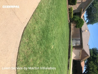 Lawn Mowingin North Richland Hills,76182,Grass Cutting by Precision Tree & Lawn, work completed in Jul , 2020