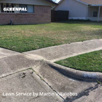 Lawn Mowin North Richland Hills,76182,Lawn Care by Precision Tree & Lawn, work completed in Jul , 2020